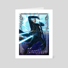 Vergil the Alpha and the Omega - Art Card by Fuge Nguyen