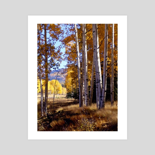Autumn Paint, Chama New Mexico by Kurt Van Wagner