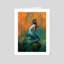 Siren - Art Card by Min Yum