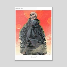 Im on Mars - Acrylic by Agrawatya T.K