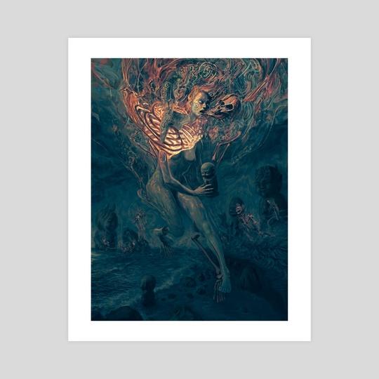 Ghost #5 by Aldo Katayanagi