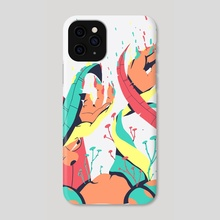 The moment you feel something.  - Phone Case by Noah Bavonese