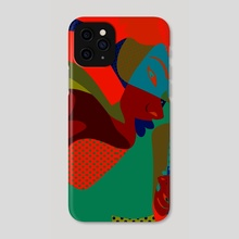 Abstract 7 - Phone Case by Michal Eyal