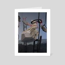 Flesh and Bone - Art Card by Hillel  O'Leary