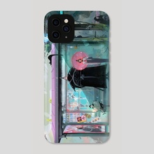 Bus Stop - Phone Case by Ross Tran