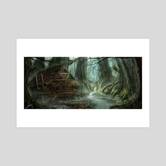 Inside the swamp by Jerico Cinco