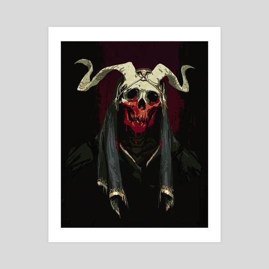 Skull dude by Jonathan Wesslund