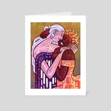 Celestial Kiss - Art Card by Xzoni