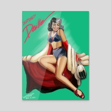 Devil Woman  - Acrylic by Lindsay Platoshyn