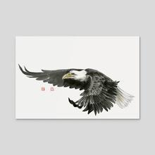 Eagle - 3 - Acrylic by River Han