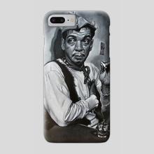 """Mario Moreno """"Cantinflas"""" - Phone Case by Francois Shogreen"""
