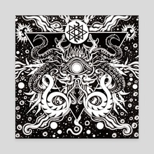 ASATHOTH - Canvas by Jeff Grimal