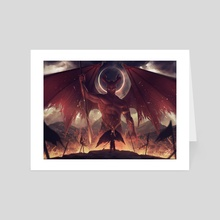 The Fallen One - Art Card by Simon Pape
