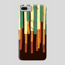 Squared Stripes - Phone Case by Michele Ficeli