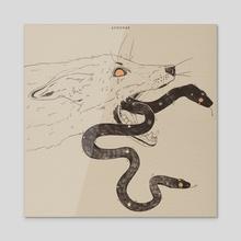 Cadaver II - Acrylic by Andrea Falotico
