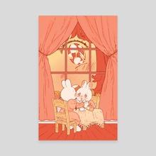 The Dollhouse Window - Canvas by Rii Abrego