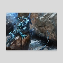 Supplant Form - Canvas by Adam Paquette