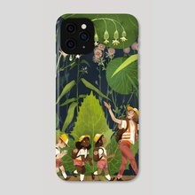 Playing in nature - Phone Case by Maike Plenzke