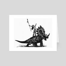 battle cry - Art Card by Shaun Keenan