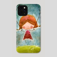 girl - Phone Case by Camila Espinosa
