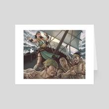 Moshi Kyan - Art Card by Adam Schumpert