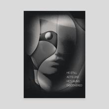 Being Discovered - Klasik Series #364 - Canvas by Filip Felbar