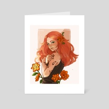 Clary Fray  - Art Card by gatovtina