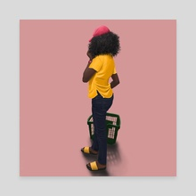 Untitled 1 - Canvas by Ifedapomola