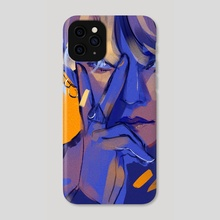 V - Phone Case by Sol Miceli