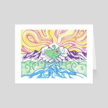 FernFrog - Art Card by Krelk