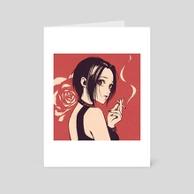 Nana - Art Card by moshimoshibe