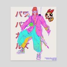 Powerpuff Girls x Blossom - Canvas by Monica Trinh