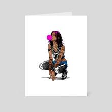 Rebel - Art Card by Ephrem Rokk