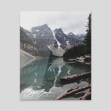 Moraine Lake. - Acrylic by Bryce Bowlin