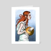 Emilia - Art Card by Kritzia LaRose