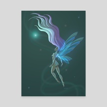 Fairy in the Ether - Canvas by Lindsey Stupica