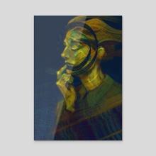 Swirl - Acrylic by Guido Marsman