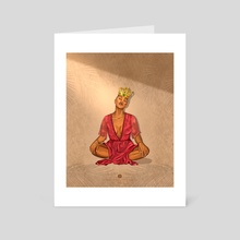 Crowned  - Art Card by Jennifer Peters Studios