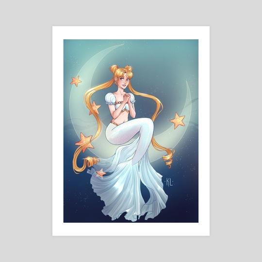 Princess Serenity Mermaid by Katherine Lobo