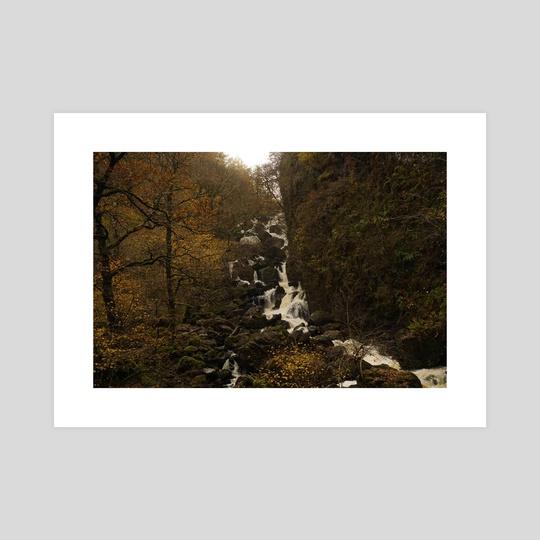 autumn waterfall by Bekka