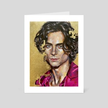 timothee chalamet - Art Card by Jackie Liu