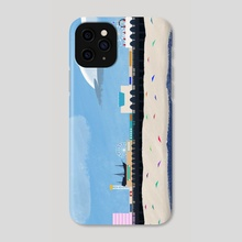 Boardwalk (Day) - Phone Case by Evan Csulik