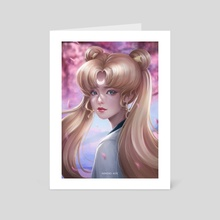 Sailor Moon - Art Card by Nindei Aye