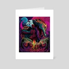 Space Dragon Lord - Art Card by Brock Hofer