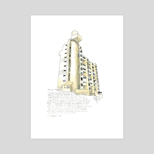 Hooper street flats, wellington by Rich McCoy
