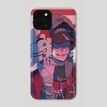 My real face - Phone Case by David Opoh