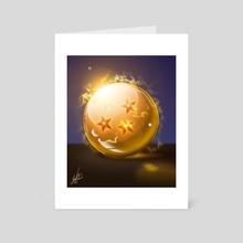4 Stars Dragon Ball - Fanart - Art Card by Juan Carlos Guzmán