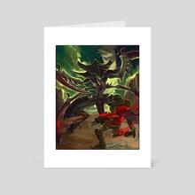 Evisceration - Art Card by Fury Galluzzi