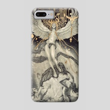 Ascent of Man and the Destruction of Magic - Phone Case by Rebecca Yanovskaya