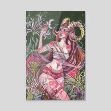 Aries - Acrylic by Audra Auclair